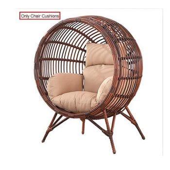 SQINAA Egg Chair Cushion