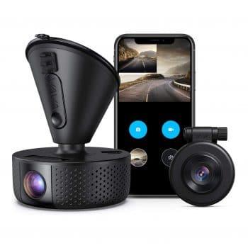 VAVA Dual Front and Rear Dash camera