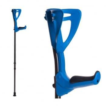 FDI ErgoTech Lightweight Forearm 4.4 – 6.7 Ft Forearm Crutches