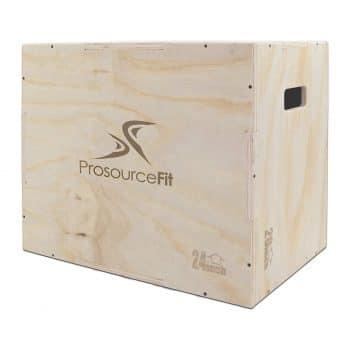 Prosource Fit 3-in-1 Workouts Plyometric Plyo Box