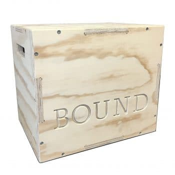 Bound 3-in-1 CrossFit Training Wood Plyo Box