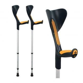 ORTONYX Forearm 308lbs 1 Pair Forearm Crutches