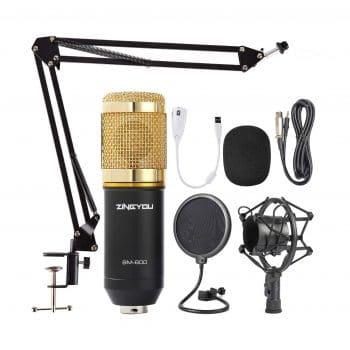 ZINGYYOU Condenser Microphone Bundle