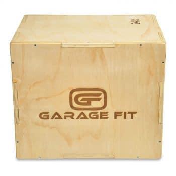 Garage Fit Wood 1 Plyo Box Essential for Plyometric Training