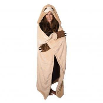 Thnapple Slothy Hooded Blanket