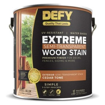 DEFY Extreme 1 Gallon Exterior Wood Stain
