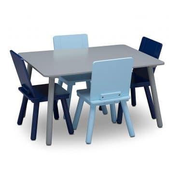 Delta Children Kids table and chair set (4 chairs)
