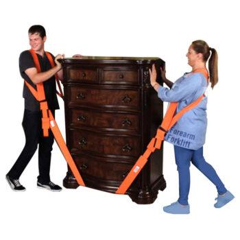 Forearm Forklift 2-Person Shoulder moving and lifting System, Orange