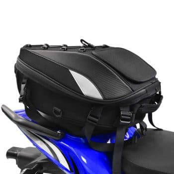 Motorcycle Seat Tail Bag Backpack