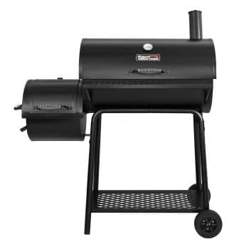 Royal Gourmet CC1830F Black Charcoal Grill w Offset Smoker
