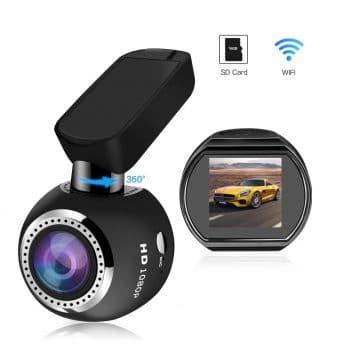 SIV Car WiFi Dash Cam Full HD 1080P Car Camera Recorder