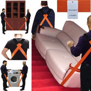 Thenewallhere Adjustable Shoulder Moving and lifting Straps