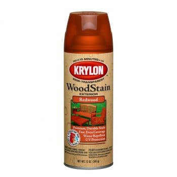 Krylon Exterior Semi-Transparent Wood Stain