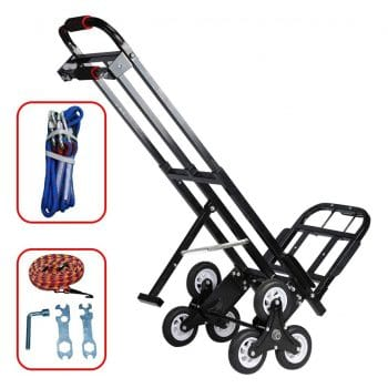 Mecete Enhanced Stair Dolly & Hand Truck