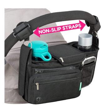 Non-Slip Stroller Organizer by Swanoo
