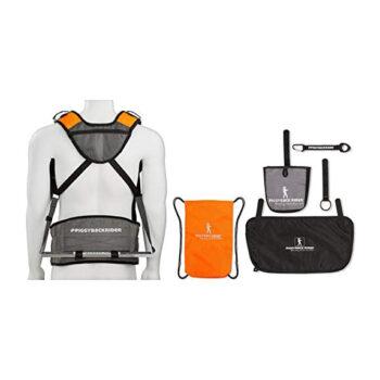 Piggyback Standing Child Shoulder Carrier Backpack