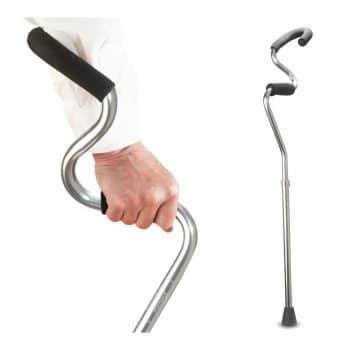 StrongArm Comfort Cane Lightweight Adjustable Forearm Crutch
