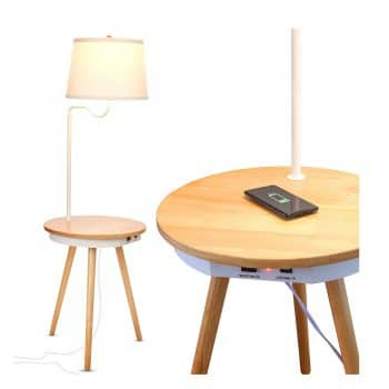 Brightech Owen -Table with Lamp