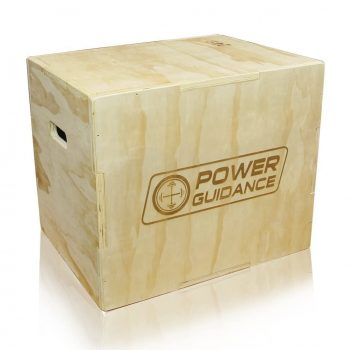 POWER GUIDANCE 3 in 1 Wood & Soft Plyo Box