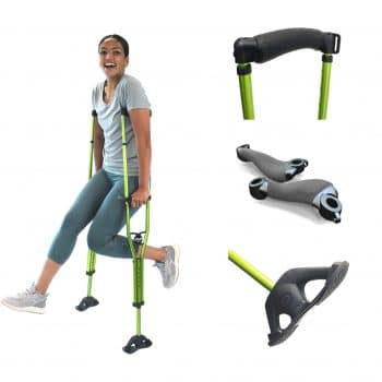 DynamoMe SportSwing Lightweight Comfortable Forearm Crutches
