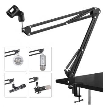 Microphone Suspension Adjustable Stand