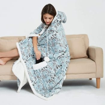 MARQUESS Ultra Soft Hooded Throw