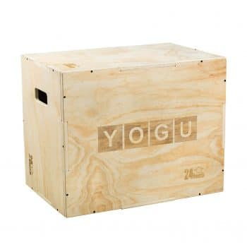 YOGU 4 Different Sizes Wood Plyo Box for Cardio Exercise