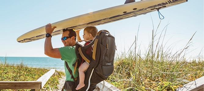Child Shoulder Carriers for Parent