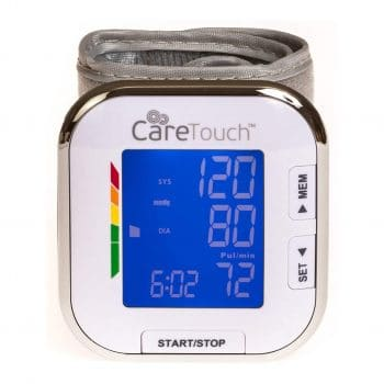 Care Touch Wrist Blood Pressure