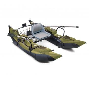 Classic accessories pontoon boat with motor mount
