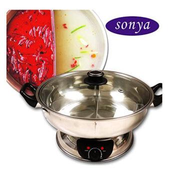 Sonya Electric Mongolian Shabu Shabu Pot