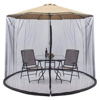Hofzelt 9ft Outdoor Umbrella Cover Screen