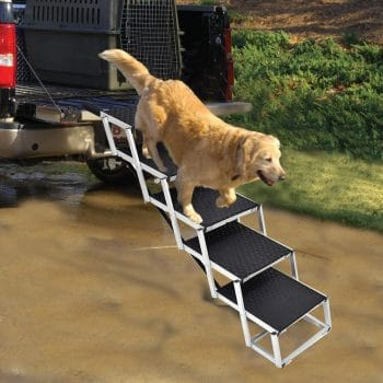 LUFFWELL Portable Dog Stairs