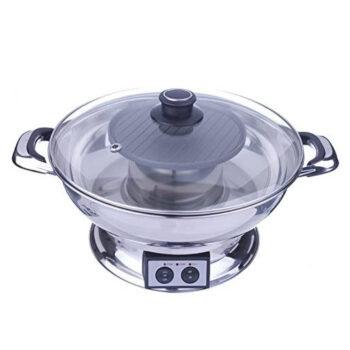 M.V. Trading Shabu Shabu Pot w BBQ Grill