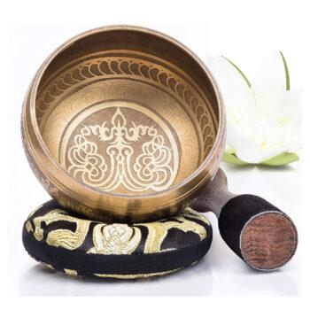 Silent Mind Tibetan Singing Bowl Set