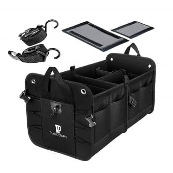 Trunkcratepro Collapsible Multi-compartments Trunk Organizer