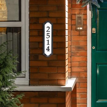 Whitehall Products Bright Address Sign