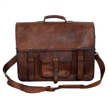 KPL Leather Briefcase for Men