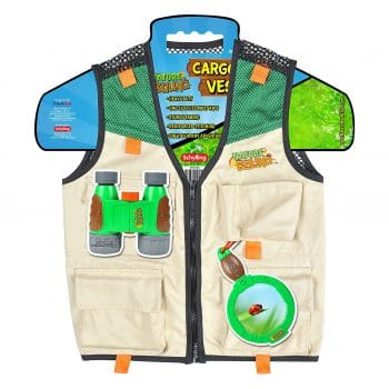 Nature bound cargo vest for kids