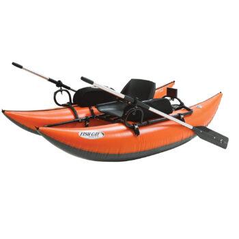 Outcast pontoon boat