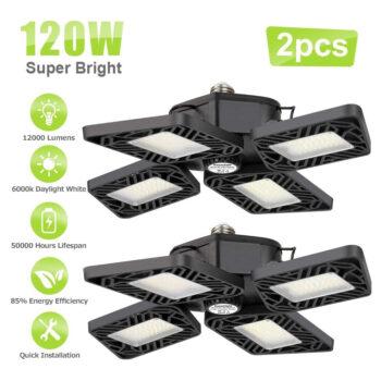 Axcelight LED Garage Lights (2 Pack)