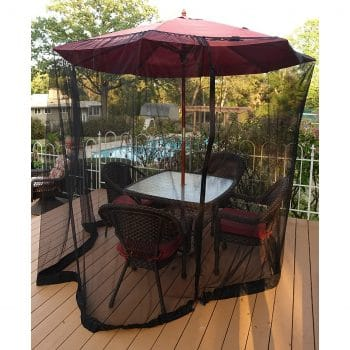 Linnal Products Patio Umbrella Mosquito Netting