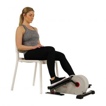 Sunny health and fitness under desk elliptical