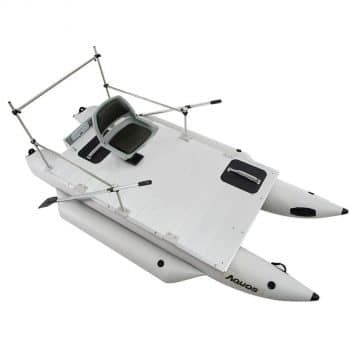 AQUOS inflatable fishing boat