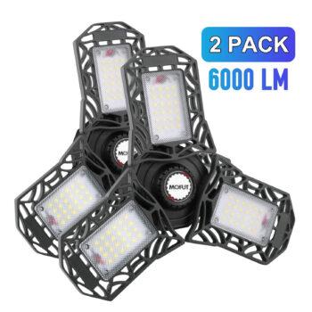 MOFUT LED Garage Lights (No Motion Detection)