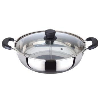 MyLifeUNIT Dual Sided Shabu Shabu Pot