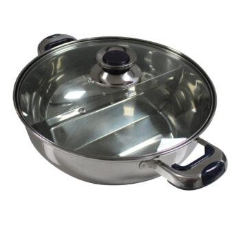 HCX 30cm Dual Sided Shabu Shabu Pot