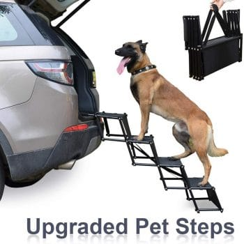 Heeyoo Upgraded Nonslip Dog Steps