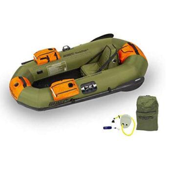 Sea Eagle inflatable fishing boat