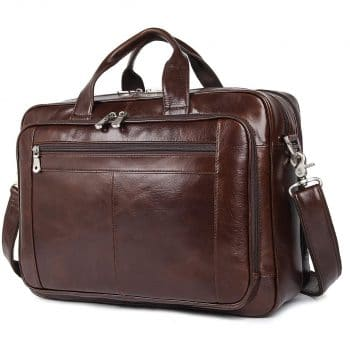 Augus Leather Briefcases for Men